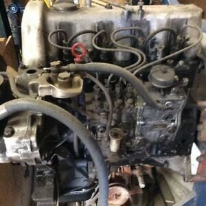 Mercedes 4cyl diesel motor from 240d