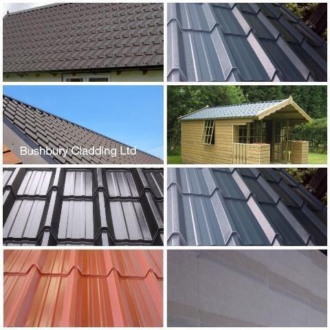 Tile Effect Roofing Sheets Ebay