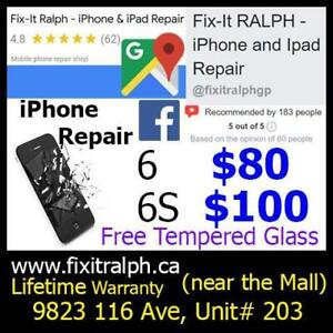 iPhone Screen & Battery Repair 5 5S SE 6 6+ 6S 6S+ 7 7+ 8 8+ iPhone Case and Tempered Glass Screen