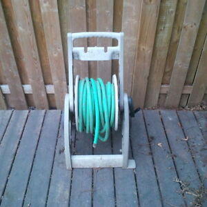 50' garden hose and caddy / reel
