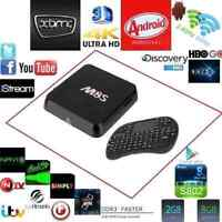 FREE WIRELESS KEYBOARD WITH M8S QUAD CORE ANDROID TV BOX