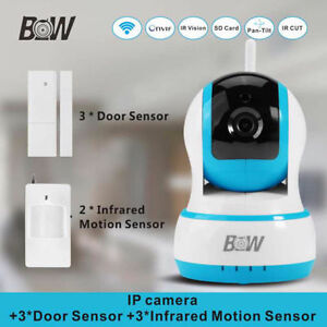 BW-IPC002 Wifi Wireless Micro 720P Dual-HD IP Camera Monitoring