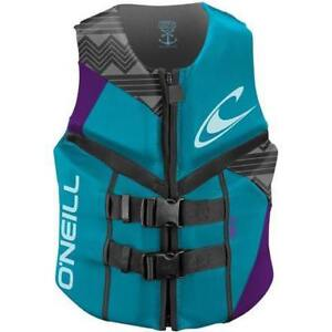 O'Neill Reactor Life Jacket (Turquoise) - Women's
