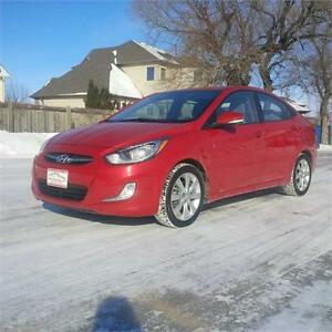 2013 Hyundai Accent GLS with Sunroof!
