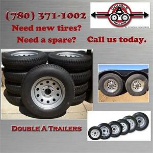 Trailer Tires, Spare Tires, New Tires, Rims