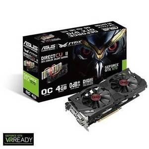 ASUS GeForce GTX 970 STRIX 4GB GDDR5