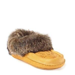 "$40.."".Manitobah Moc's "".Deer Skin..slippers...."