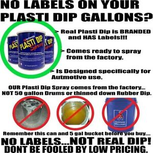 Largest supply of Authentic Plasti Dip Spray gallons in Canada