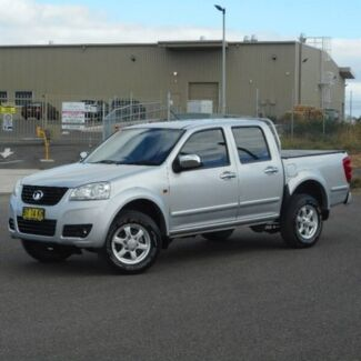 2012 Great Wall V200 K2 MY12 4x2 Silver 6 Speed Manual Utility