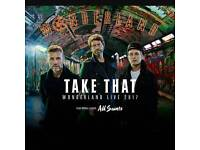 Take That standing tour ticket