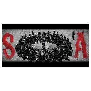 """New Sons of Anarchy Body Pillow Perfectly Plush 18"""" X 36"""" Pillow"""