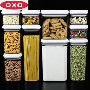 NEW OXO 10 PC POP CONTAINER SET 202132098 Airtight Food Storage