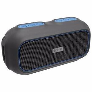 iHome IBT9BLC Waterproof Bluetooth Wireless Speaker - Black/Blue(Hooker Missing)
