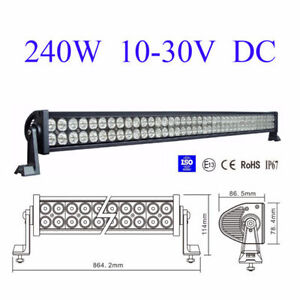 "41"" LED Light Bar Kit Straight & Curved with 1 YEAR WARRANTY"