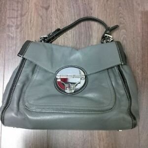 MICHAEL KORS AUTHENTIC MARGO GREY HANDBAG