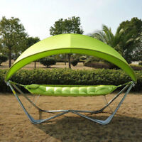 Covered Hammock with Stand - TAX INCL