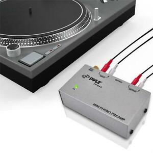 Pyle (PP444) Ultra Compact Phono Turntable Pre amp