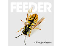 2x FEEDER tickets, The Institute Birmingham, Tuesday 4th October