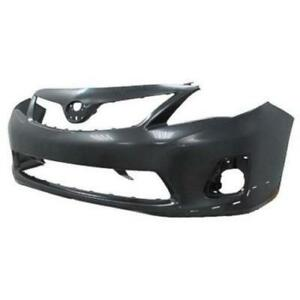 New Painted 2011-2013 Toyota Corolla Front Bumper &FREE shipping