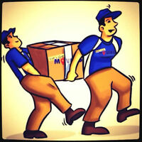 Movers avail today tomorrow weekends call 4167443000