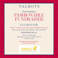 Shop to help kids with cancer