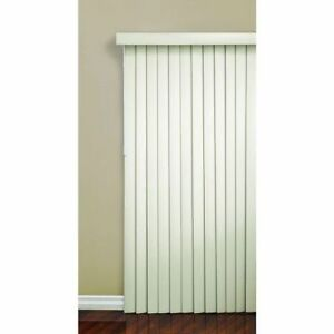 NEW Vertical Window Blinds - Beige or White - $60 each