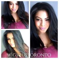 TOP QUALITY UNPROCESSED VIRGIN HAIR WIGS. FULL LACE & LACE FRONT