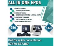 EPOS SYSTEM FOR YOUR BUSINESS TAKEAWAY RESTAURANT E-CIG OFF LICENCE TILL SYSTEM
