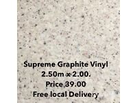 Supreme new vinyl flooring free local delivery