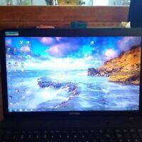 "C875D Tobisha Satellite Laptop - 17"" Screen, Works Perfectly"
