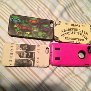 4 COOL IPHONE 5 CASES TAKE ALL 4 FOR $10