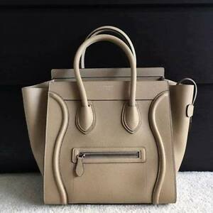 Celine Medium Luggage Tote - Taupe • BNWT