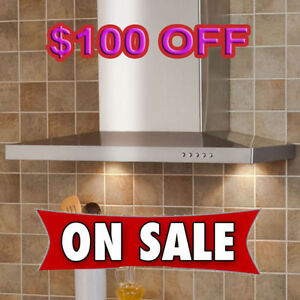 WALL MOUNT KITCHEN RANGE HOOD EXHAUST FAN  $399 ONLY