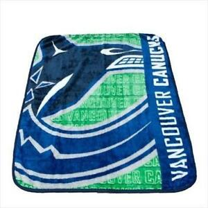 New NHL Ice Hockey Vancour Canucks Ultimate Blanket Official