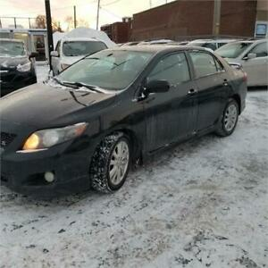 TOYOTA COROLLA S 2010/AUTOMATIC/A/C/GRPE ELECTRIC