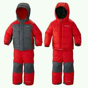 Used Columbia Double Flake Reversible Winter Set Kitchener / Waterloo Kitchener Area image 2