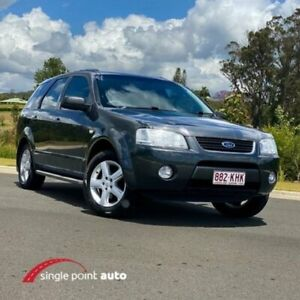 2007 Ford Territory SY TS Graphite 4 Speed Sports Automatic Wagon Chevallum Maroochydore Area Preview