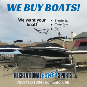 We Buy Boats!  (Sell Your Boat FAST)