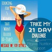 Looking for 5 Women to Get Fit & Healthy Before 2016!