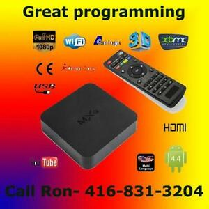 MXQ original quad-core 4.4 Android tv box with Kodi 16 Ajax