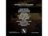 'Welcome To The Warehouse' Warehouse Project Ticket - Sat 24th Sept