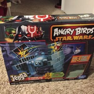 Angry Birds Jenga and Connect 4
