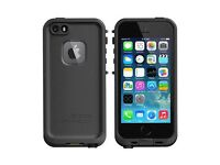 Lost Black iPhone 5S with Black Lifeproof Case