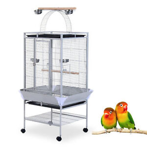 """63"""" Bird Cage / Playhouse for Parrot and Canary Large bird House"""