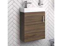 Slimline / Cloakroom Basin Unit - wall hung