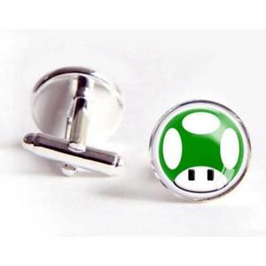 Highly Polished set (pair) of Men`s Super Mario Cufflinks