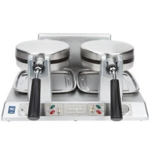 Waring WW250 Commercial Double Belgian Waffle Iron / Maker 120V .*RESTAURANT EQUIPMENT PARTS SMALLWARES HOODS AND MORE*