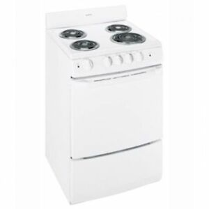 """BRAND NEW 24"""" WIDE APARTMENT SIZE ELECTRIC AND GAS STOVES!"""
