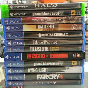 PS4 Games low low prices