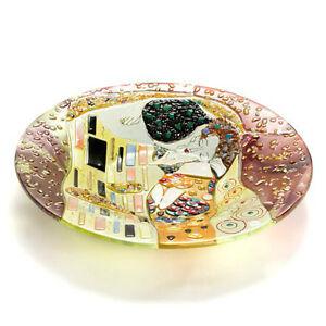 Sebino Arte - Klimt 'The Kiss' Large Glass Bow